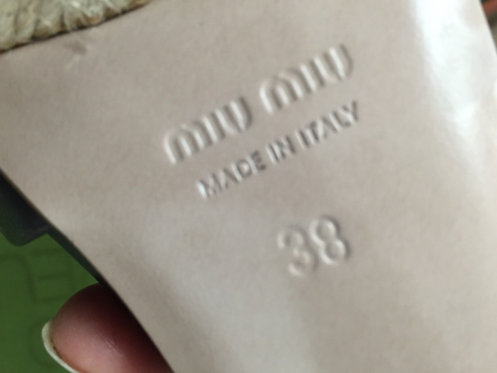 MIU MIU BY PRADA PLATEAU HEELS HEELS HEELS LEDER 38/39 WIE NEU 232c33
