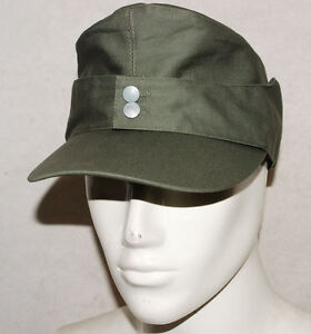 WWII-GERMAN-ARMY-EM-SUMMER-PANZER-M43-FIELD-COTTON-CAP-XL-32512
