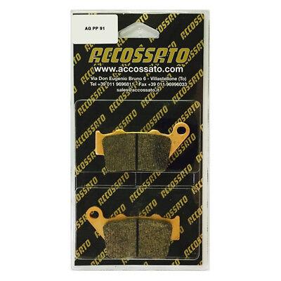 2000-2002 Accossato Pastiglia freno AGPP91ST 50 HRD  50 GS ENDURO