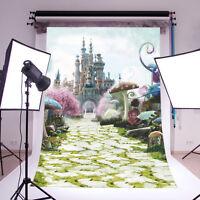 Alice Wonderland Backdrop Vinyl Photography Studio Props Background 3x5ft 6695