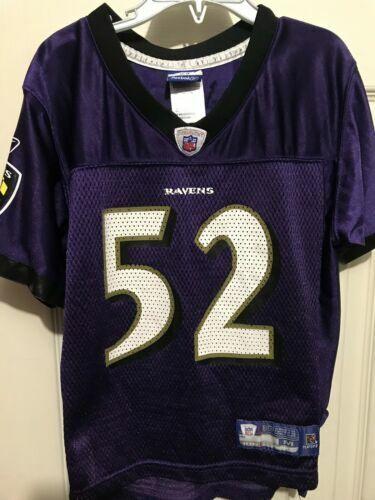 best sneakers 78fc1 0ec3c Ray Lewis Purple Reebok NFL Baltimore Ravens Jersey for sale ...