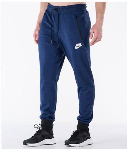 147909a293ae Mens Nike Sportswear Advance 15 Knit Joggers 837012-429 Blue Size XL for  sale online