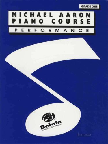 Michael Aaron Piano Course Performance Grade 1 Sheet Music Book