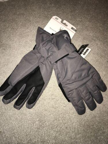 Spyder Xt Women's Performance ski gloves 3M Thinsulate. grey size Large