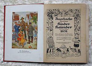 Holst-Dr-Adolf-Auerbachs-Deutscher-Kinder-Kalender-1931-reich-Illustriert