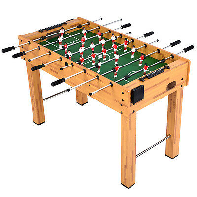 """Foosball Soccer Table 48"""" Competition Sized Arcade Game Room Hockey Family Sport"""