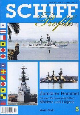 Schiff Profile 17 Zerstörer der Fletcher-Klasse der Bundeswehr  Schiff-Modellbau