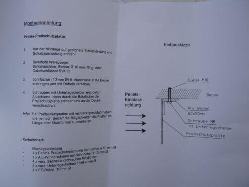 Impact Protection Mat pour Granulés 1200x1000x3 mm CPL Pellets Storz Set