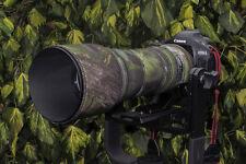 Tamron 150 600mm Néoprène Lentille Protection Camouflage Manteau Housse Vert
