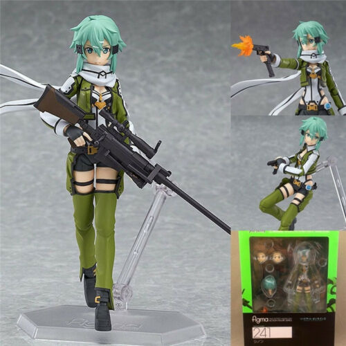 Anime Figure Sword Art Online 2 Sinon Asada SAO Collection Figma 241 Toy Gift