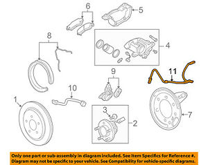 Buick GM OEM 10-13 LaCrosse ABS Anti-lock Brakes-Front Speed Sensor 22821303