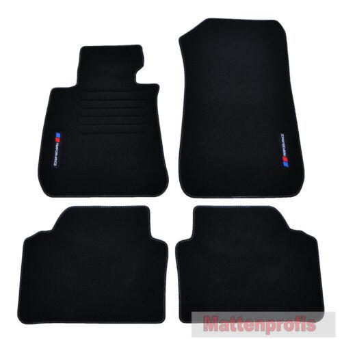Mattenprofis Velours PB Edition Fußmatten für BMW E90 E91 ab Bj 2005-2012