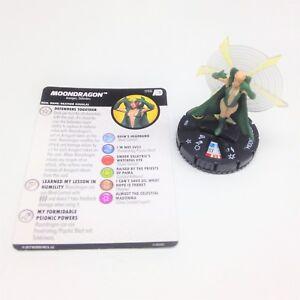Heroclix-Avengers-Defenders-War-set-Moondragon-056-Super-Rare-figure-w-card