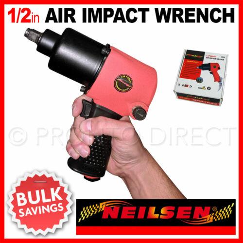 """1//2/"""" Air Impact Wrench Gun Twin Hammer High Power Heavy Duty Composite NEILSEN"""