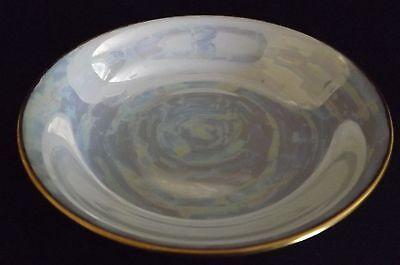 Hutschenreuther Bavaria Fruit or Sauce Bowl  -Lustre / Luster Ware MoP Gold Rim