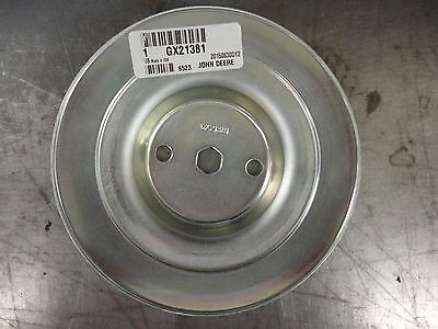 Deck Spindle Pulley For 54 Inch Lawn Mower John Deere G110 190C LA175 D170 S240