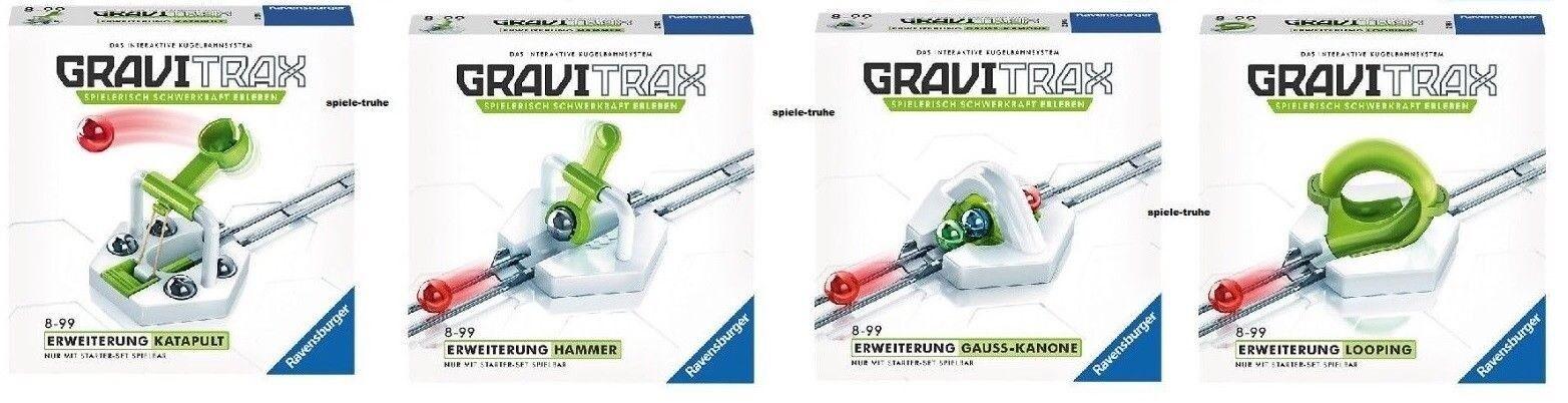 Ravensburger GraviTrax® tutti 4 Expansions   - nuovo FACTORY SEALED  per offrirti un piacevole shopping online