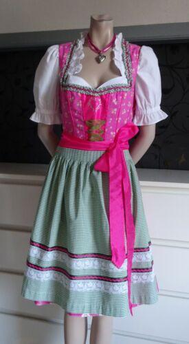 German Austrian  Dirndl Dress Apron Blouse  10