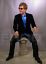 thumbnail 4 - Life Size Elton John Music Movie Prop Wax Statue Realistic Display Figure 1:1