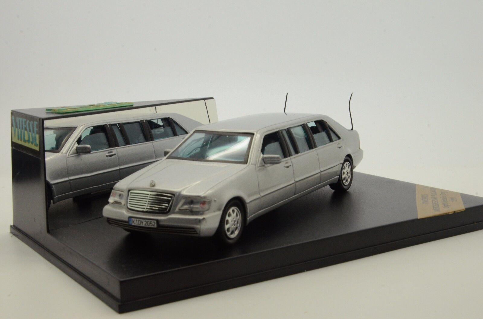 Mega RARE    Mercedes S600 Limousines Pullman 1999 Vitesse VMC99025 1 43