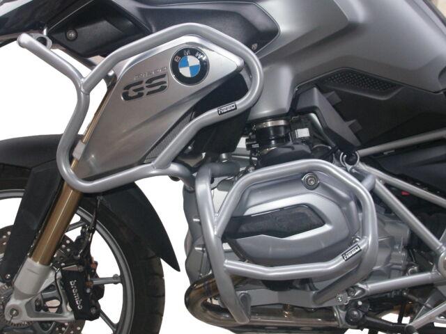 Defensa de motor Heed BMW R 1200 GS (2013 - 2016) - Full Bunker Exclusive, plata