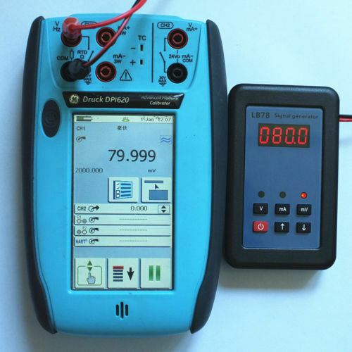 2019 LB78 4-20mA//0-10V//mV Signal generator source calibrator with PLC、DCS、ESD