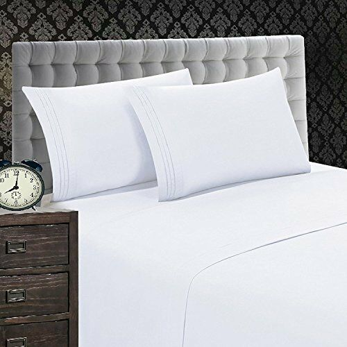 Elegant Comfort 1500 Thread Count Luxury Egyptian Quality Wrinkle and Fade Resis