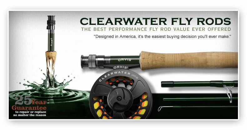 Orvis Clearwater Big Game &  Saltwater Fly Rod w free shipping &  20 gift card   timeless classic