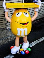 M & M, XXL Aufsteller, Verkaufsständer auf Rollen, Riesen Figur in Gelb....