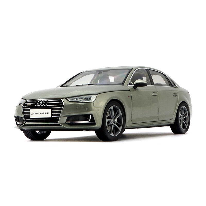 ORIGINAL MODEL 1 18 ALL NEW AUDI A4 A4L 2017,gold