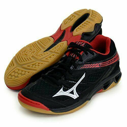 mizuno volleyball shoes red and black 90