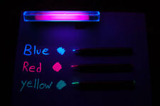 Invisible UV Ink Markers & Blacklight Combo