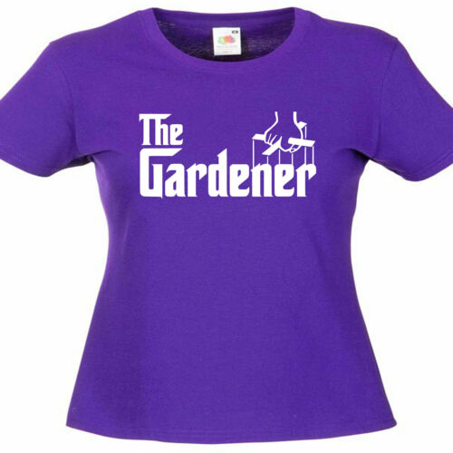 Gardener Greenkeeper Gardening Ladies Womens Lady Fit T Shirt
