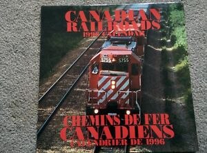 CANADIAN RAILROADS 1996 Train CALENDAR CAN BE to used again in 2024 Nice Photos