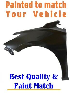 New PRE PAINTED Passenger RH Fender for 2014-2016 Ford Fiesta w Free Touchup