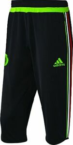 c4630b04f4d0a Image is loading ADIDAS-MEXICO-3-4-TRAINING-PANTS-2015-16-