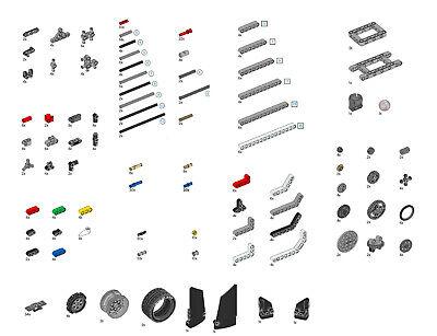 NEW Lego EV3 Mindstorms Education kit NO BRICK,MOTORS,SENSORS,WIRES 45544
