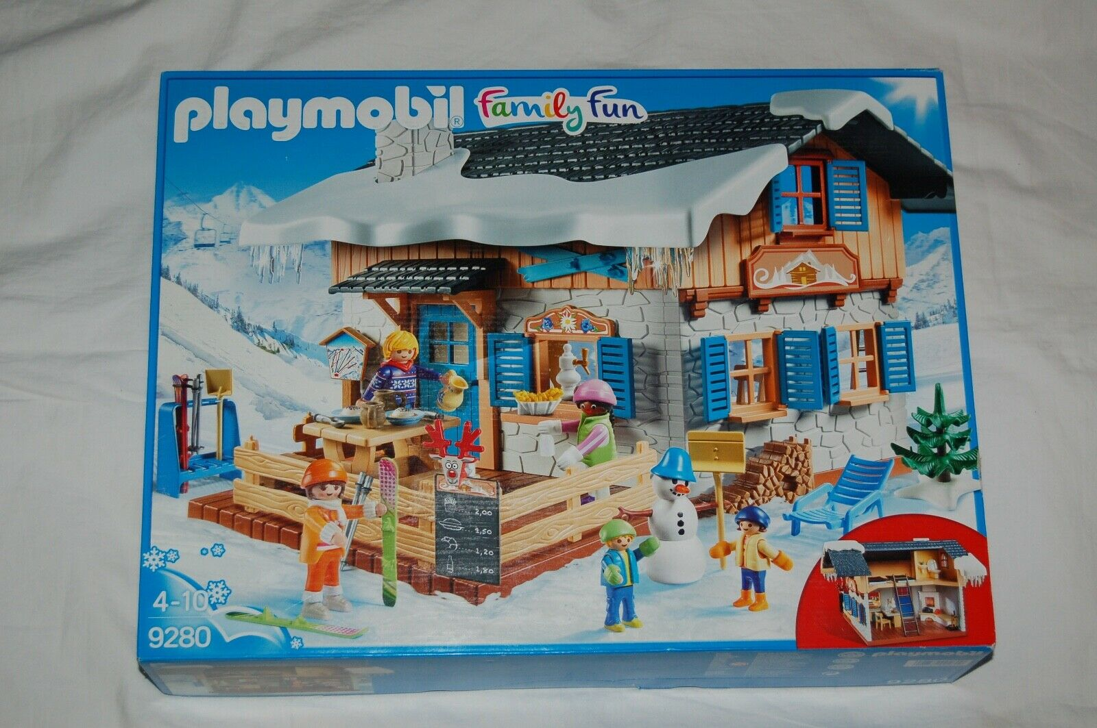 Playmobil Family Fun 9280 Skihütte NEU NEU NEU  passt zu 5426 bbd27c