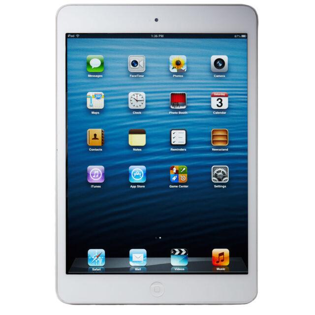 Apple iPad mini 1st Gen. 16GB, Wi-Fi + Cellular (Unlocked), 7.9in - White