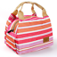 Thermal-Portable-Insulated-Cold-Canvas-Stripe-Picnic-Tote-Carry-Case-Lunch-Bag thumbnail 10