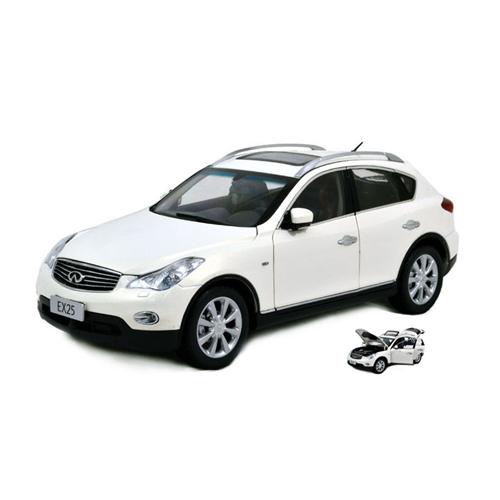 INFINITI EX25 2013 bianca 1 18 Paudi Model Auto Stradali Die Cast Modellino