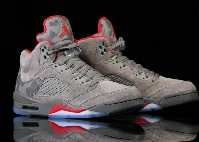 3df2b4ca20f4 Nike Air Jordan 5 Retro BG 440888-051 Dark Stucco Youth BasketBall Shoes  for sale online