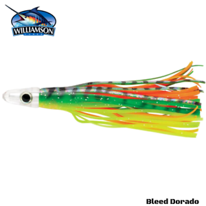 Dolphinfish Lure Mahi-Mahi Williamson Rigged Dorado Catcher Trolling Jig