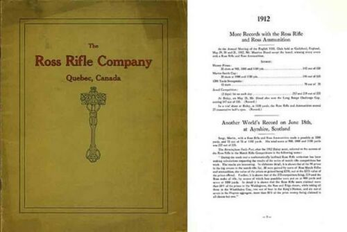 Ross 1913 Rifle Company Records