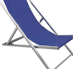 Sdraio Per La Spiaggia.Sedia Sdraio Spiaggia Pieghevole Riccione 58x103x96h Colore Blu Ebay