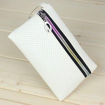 Hot Lady Girls PU Purse Wristlet Wallet Bag Coin Phone Makeup HandBag Key Case