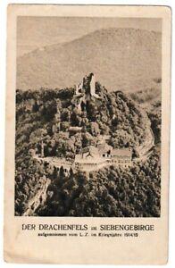 Ansichtskarte-Hotel-auf-dem-Drachenfels-Siebengebirge-Kriegsjahre-1914-15-sw