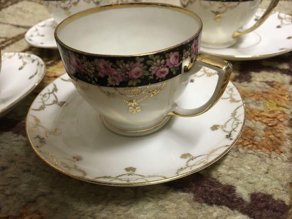 Porcelæn, Kaffekopper antikke