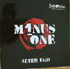 """NEW EUROVISION 2016 CYPRUS ENTRY MINOS ONE """"ALTER EGO"""" CD PROM"""