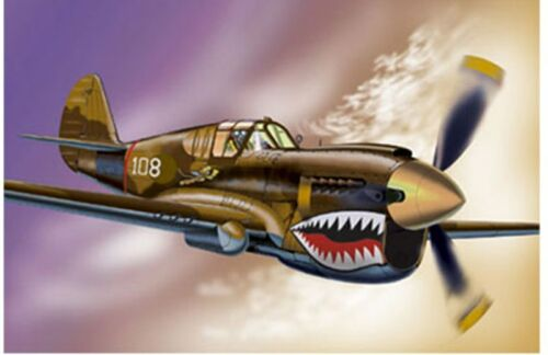 ARMOUR B624 P40 L  B628 P40 E WARHAWK diecast model aircraft WWII USAAF 1:48th